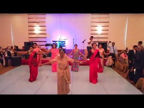 OMG The best surprise wedding dance -Sri lanka (Jinandi & Chan 21-10-2017)