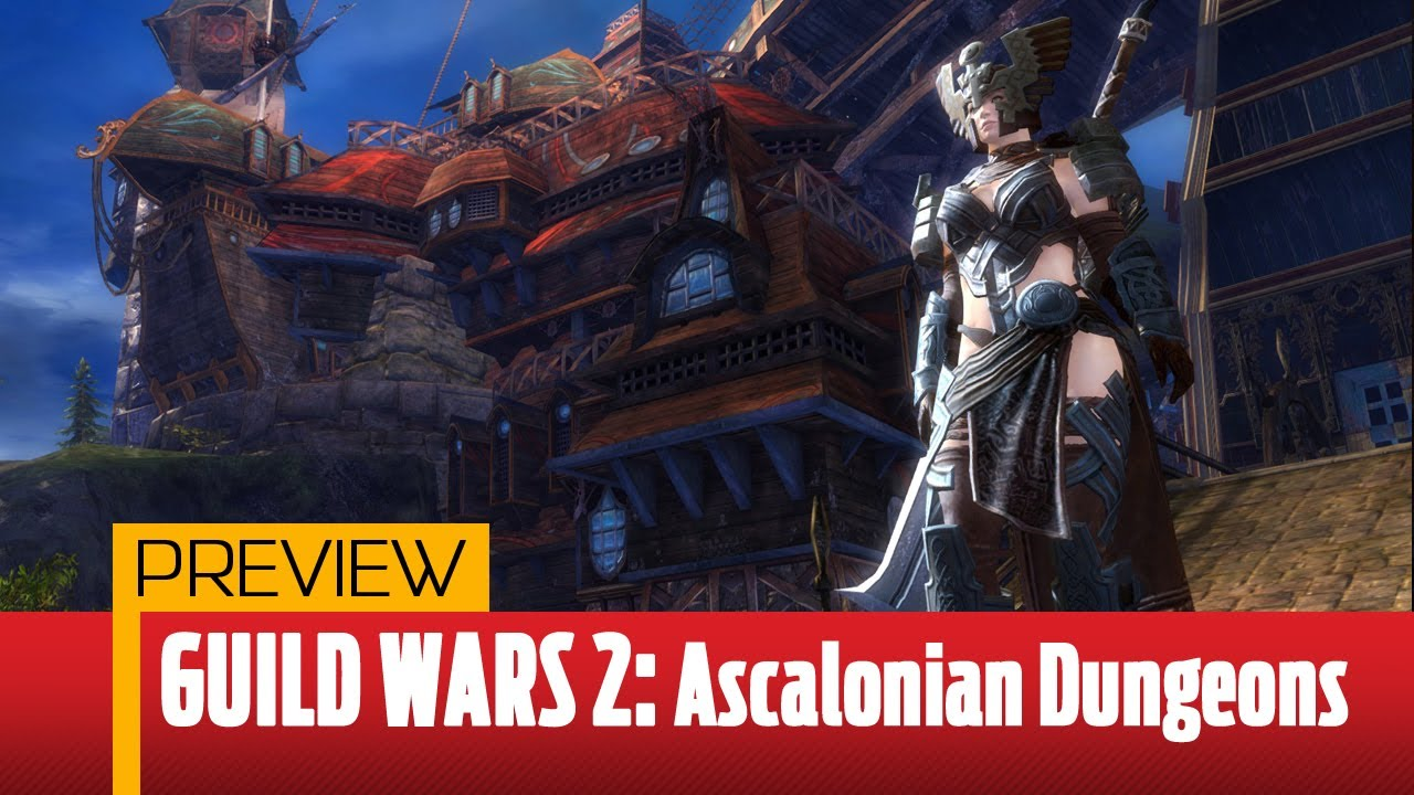 ‪Guild Wars 2 Dungeon Preview - Ascalonian Catacombs Gameplay‬