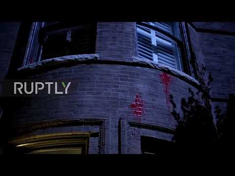 USA: Protesters vandalise St Louis mayoral home after officer acquitted for black man's death