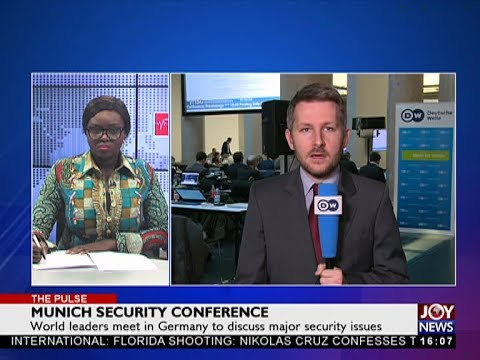 Munich Security Conference - The Pulse on JoyNews (16-2-18)