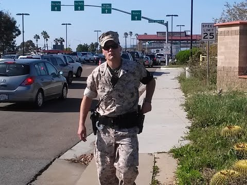 Camp Pendleton Marine MP Meets The Junkyard News