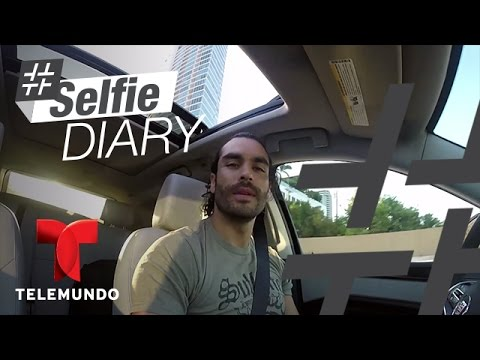 Gonzalo García Vivanco se prepara para un día de grabación  Selfie Diary  Entretenimiento