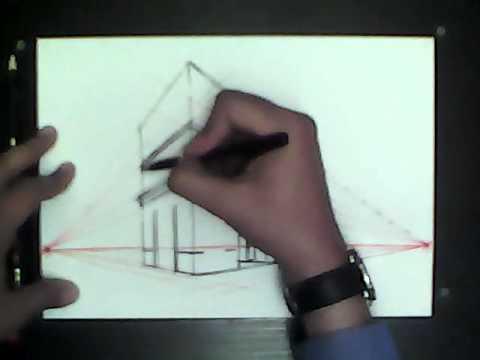 Tutorial de dibujo por: Paul Frisancho A. Perspectiva del paisaje urbano. 2012 - 10