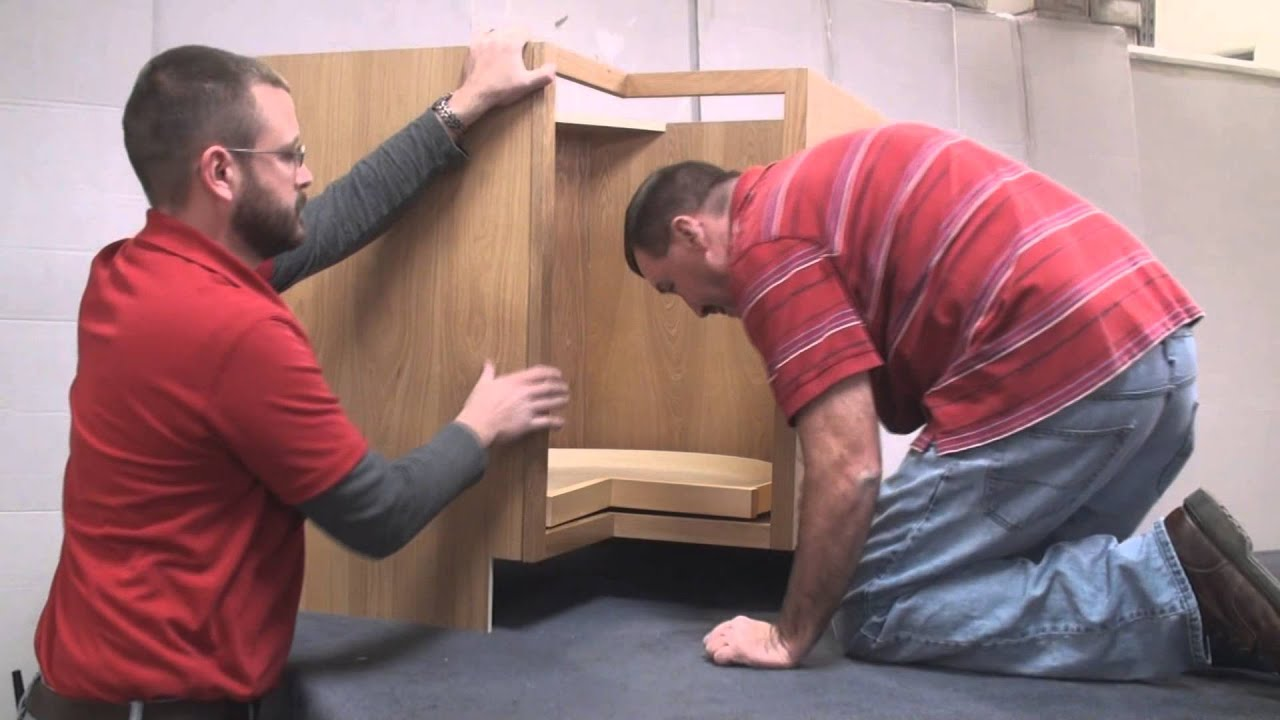 How To Build A Base Lazy Susan Cabinet Youtube