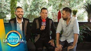 Edwin Luna y Alann Mora platican con Ricardo de su amor a sus mujeres.| Venga La Alegría