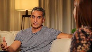 "Egyptian comedian Bassem Youssef: ""Nobody should be above satire"""
