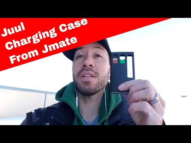 The Jmate PCC Portable Charging Case for the Juul