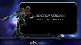 Doctor Voodoo Special Moves | Marvel Contest ...