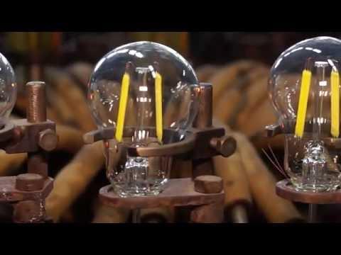 Филаментные (Filament) светодиодные лампы Томича совместно с ТУСУР производят в России!