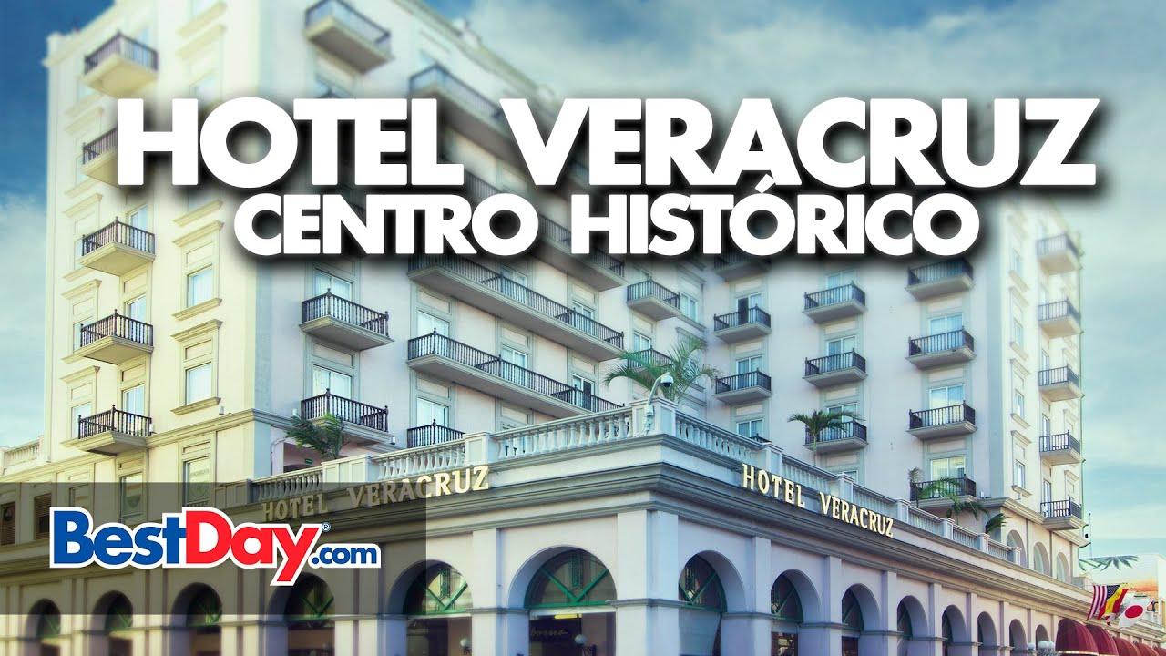 Hotel veracruz centro hist rico youtube for Hotel centro