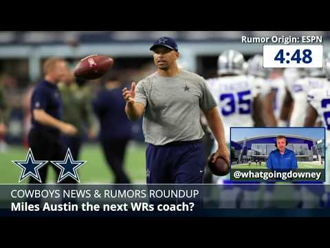 Dallas Cowboys Rumors: Latest On Paul Alexander, Brice Butler, Miles Austin, And Jonathan Cooper