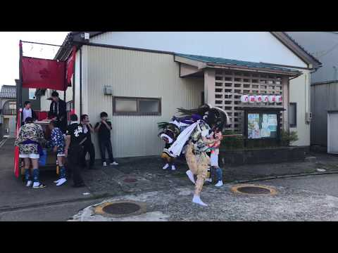 【富山県には獅子舞がある】六渡寺獅子方保存会  朝出発‼️