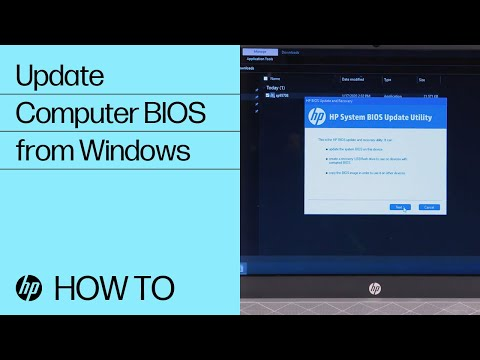 Update Your HP Computer BIOS from Windows | HP Computers | HP