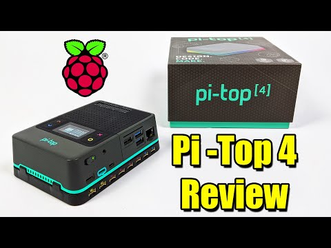 Pi-Top 4 Review - Raspberry Pi 4 Portable Programmable Computing Device