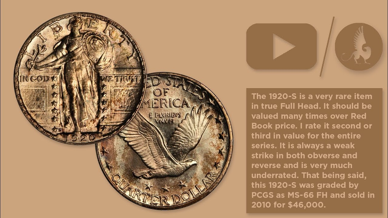 Stack's Bowers Introduces the 1920 S MS66FH Standing Liberty Quarter