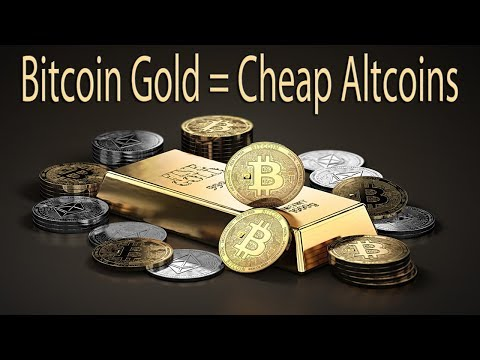Bitcoin Gold Opens Altcoin Buying Opportunity