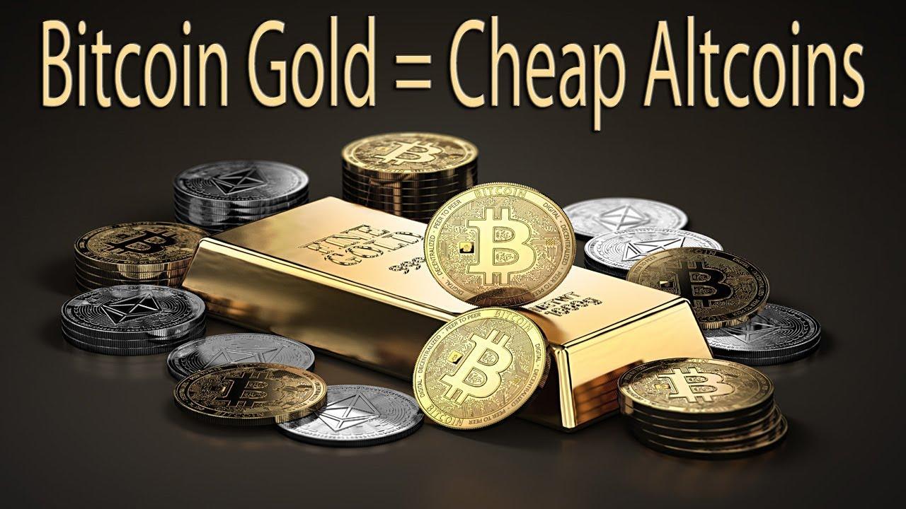 altcoin bitcoin gold