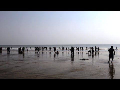 Old Digha Sea Beach - West Bengal Tourism - Indian Beach Vid