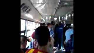 مشاجرة داخل حافلة city bus فاس كنترول و مواطن
