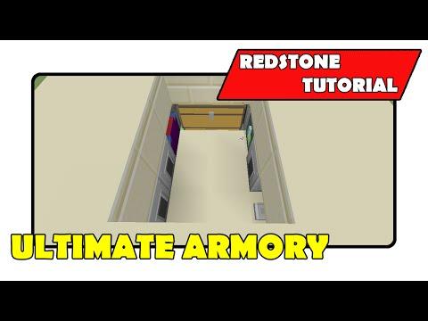 Ultimate Armory [Secret Minecart Room]