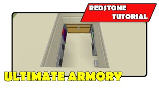 "Ultimate Armory [Secret Minecart Room]""Redstone Tutorial"" (Minecraft Xbox/PlayStation/PS Vita)"