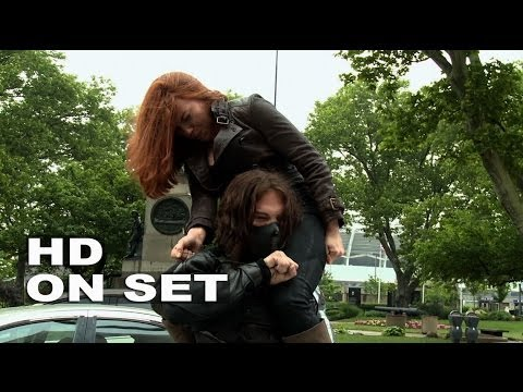 "Captain America: The Winter Soldier: Scarlett Johansson ""Black Widow"" Behind the Scenes (Full Broll)"