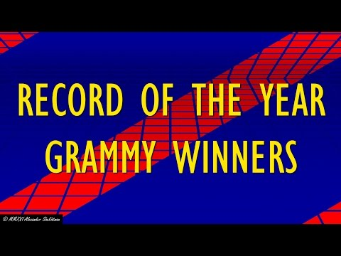 RECORD OF THE YEAR GRAMMY WINNERS - #165 Jeopardy! Clue of the Week
