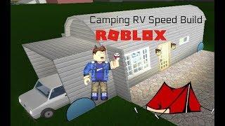 ROBLOX Camping RV Speed Build (fr) Bienvenue à Bloxburg