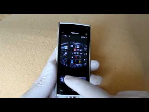 nokia x6 with spb mobile shell