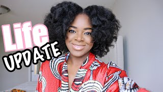 GRWM Life Update | Quarantine Life, New Job + Exciting News!!! - Ify Yvonne