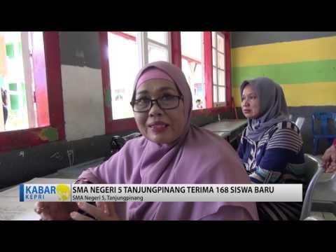 TV kepri Berita. penerimaan peserta didik baru SMA n 5 tanjungpinang