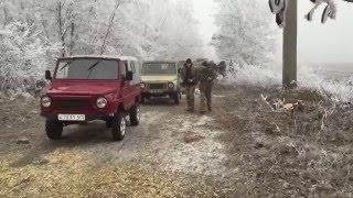 луаз по грязи покатушки 12.12.2015. ДНЕПР