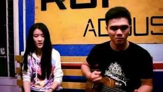 Mashup Xin anh đừng & Quên đi Acoustic ukulele cover by Vân Anh guitar Hậu Heo