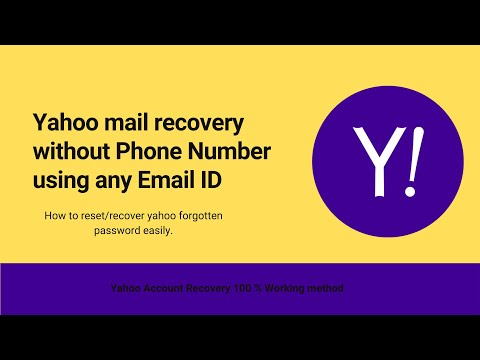 How to get into my yahoo email if i forgot my password