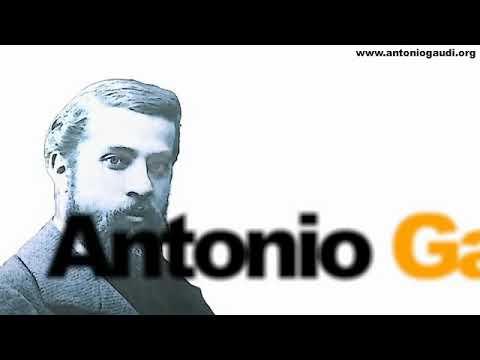 Antonio Gaudí. Biografía en 3 minutos. www.antoniogaudi.org