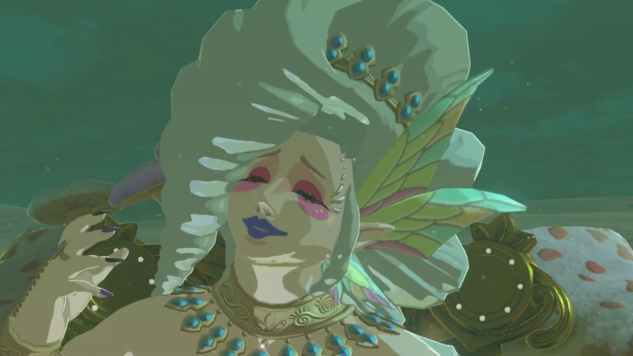 zelda breath of the wild great fairy location 4 tera youtube