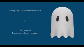 The Windows update that encrypts your files! | Fantom Ransomware