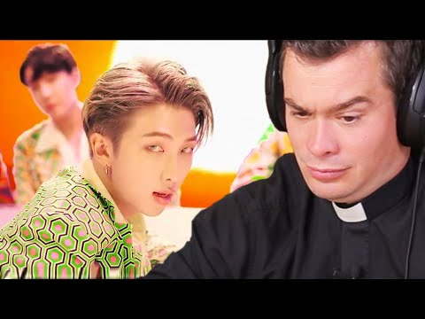 BRITISH PRIEST Reacts to 'IDOL' by BTS