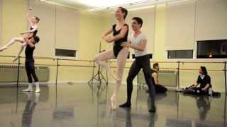 Pirouettes and Whip Turns - Pas de Deux Fun Time After Ballet Class