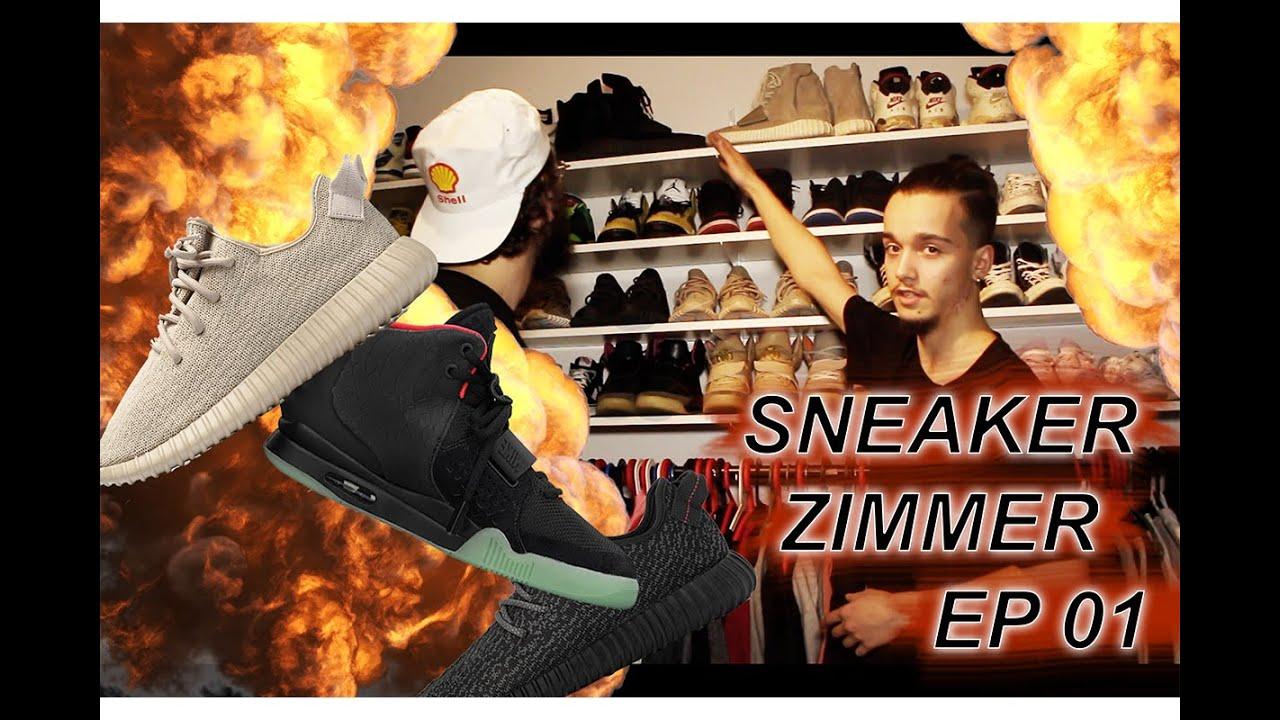 sneakerzimmer ep 01 mit dominik russo yeezy sample jordans and more
