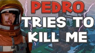 PEDRO TRIES TO KILL ME | Hilarious Cinematic in Fortnite Battle Royale