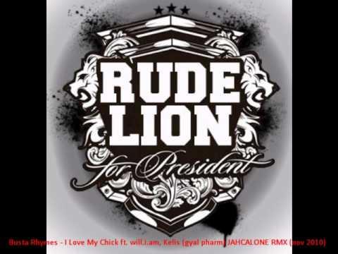 BUSTA RHYMES - I LOVE MY BITCH (gyal pharm) JAHCALONE RMX - RUDE LION SOUND (nov 2010)