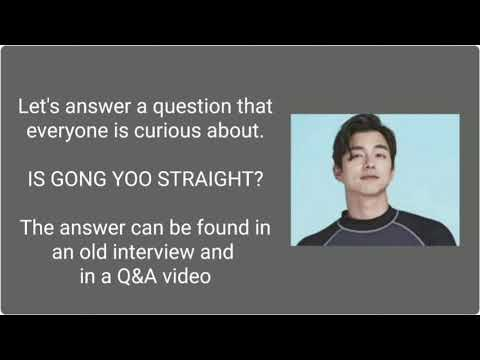 Download GONG YOO'S SEXUAL ORIENTATION & RELATIONSHIP FACTS (Unknown to most fans)