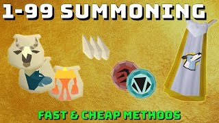 1-99 Summoning Guide! [Runescape 3] Fast & Cheap Methods