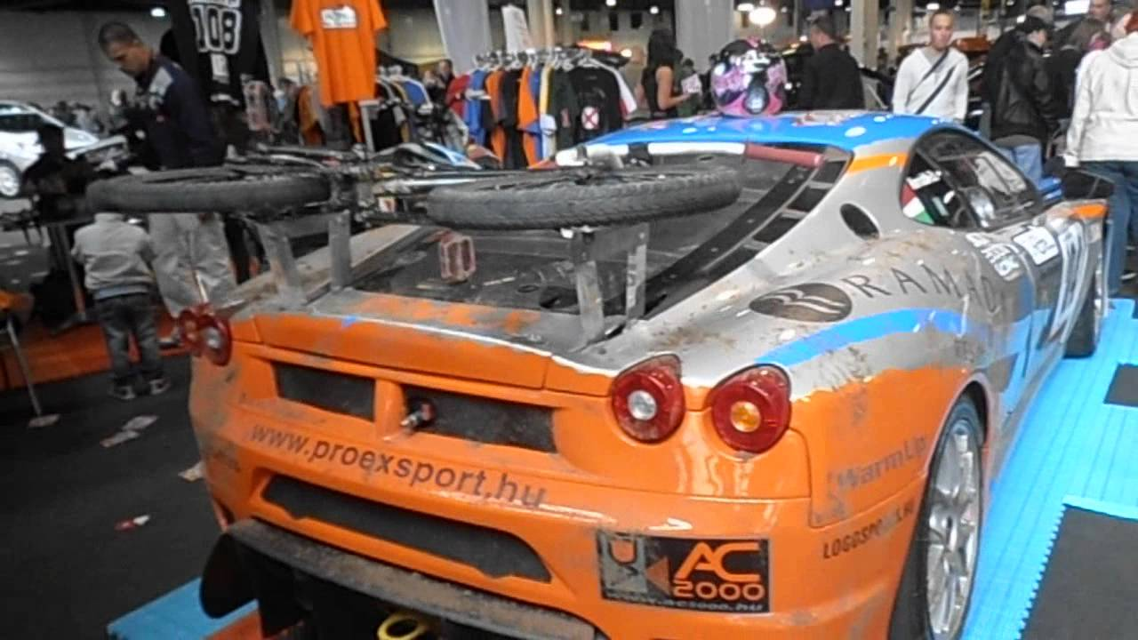 gt2 ferrari f430 with bmx bike spoiler wtf youtube. Black Bedroom Furniture Sets. Home Design Ideas