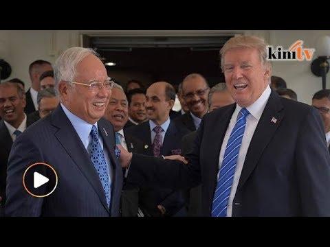 Najib, kenapa tolong Amerika? Pelajar disini tak makan
