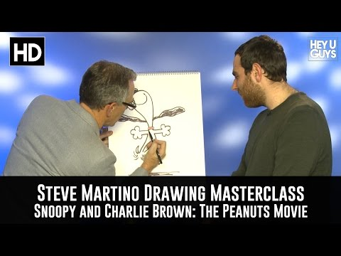 Steve Martino Drawing Masterclass - The Snoopy and Charlie Brown Peanuts Movie Mp3