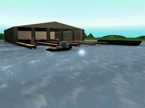 Tug Manuevering Barge