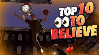 Top 10 Plays You Have To SEE To BELIEVE #34 - NBA 2K19 Highlights