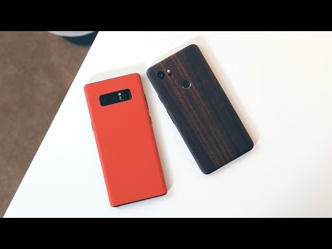Google Pixel 2 XL vs Galaxy Note8